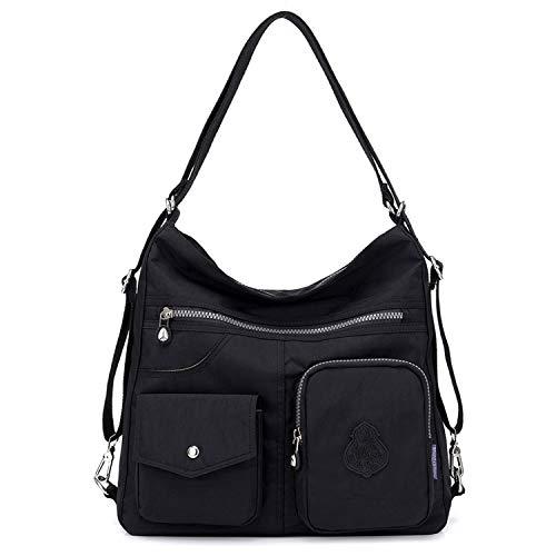Outreo Borsetta Ragazza Borse a Spalla Griffate Borsa Tracolla Donna Zaino Impermeabile Borse da Viaggio Sacchetto Messenger Bag per Sport Tasche