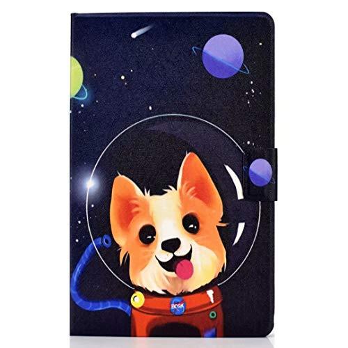 Case voor nieuwe iPad Pro 11 2020 met potloodhouder, Premium lederen Folio Stand Shell Smart Cover met Auto Sleep/Wake Zachte TPU Bumper Slim Lichtgewicht Beschermhoes voor iPad Pro 11 2020 iPad Pro 11 2020 Ruimte hond