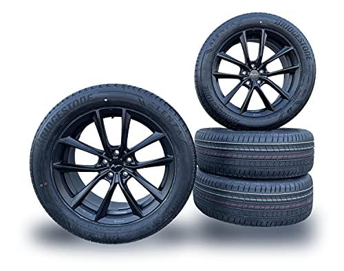 X3 G01 / X4 G02 BMW - Breyton BR-I - 19 Zoll Sommer Kompletträder Felgen mit Reifen - Matt Black - mit Bridgestone Bereifung - Eintragungsfrei ECE