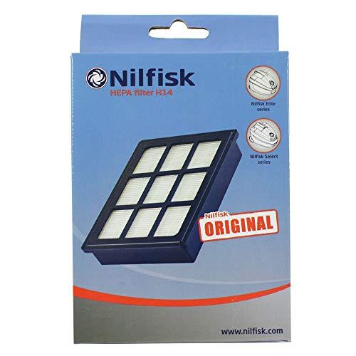 Nilfisk Filtro Hepa14 Accesorio Aspiración, Kunststoff, Azul
