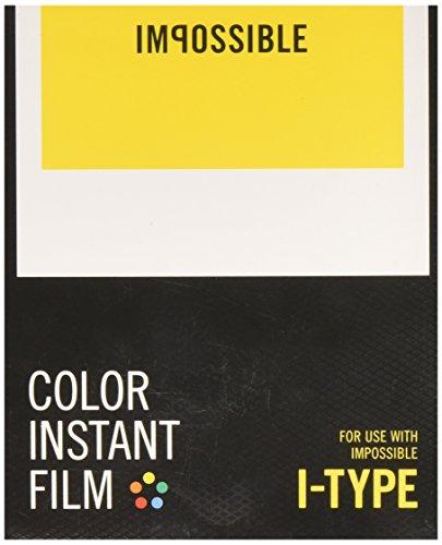 Impossible 4521 I-Type schwarz-weiß-Film für I-1 Kamera mit Instant Lab monochrom