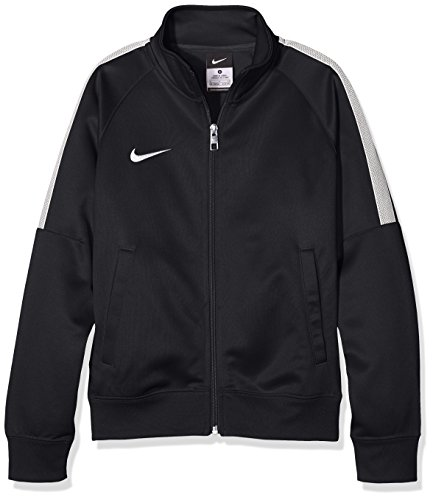 Nike Kinder Jacke Team Club Trainer, black/football white, M