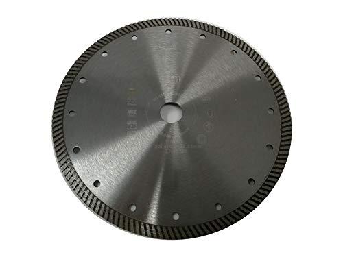 jw-germany Turbo Diamant zaagblad slijpschijf 230 x 22,23 mm boring voor haakse slijper, industriële kwaliteit volgens DIN EN 13236