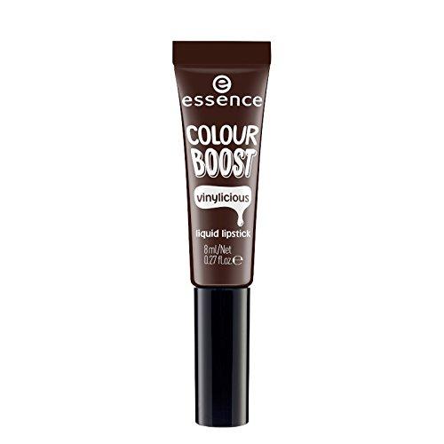 Essence Lipstick vloeibare colour boost vinylicious 10 i'm dark i'.