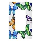 Placa decorativa para interruptor de luz – Exótica mariposa...