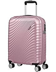 American Tourister Jetglam Spinner S Bagaglio a Mano, 55 cm, 35.5 litri, Rosa (Metallic Pink)