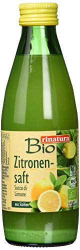 Bio rinatura Zitronensaft, 6er Pack (6 x 250 ml)