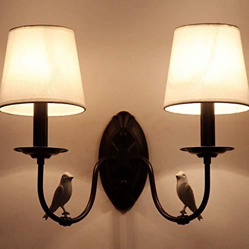 Sconce wandlamp helder modern design woonkamer muur lamp/slaapkamer/gang metalen wandlamp vogel vorm lamp arm ontwerp wandlampen