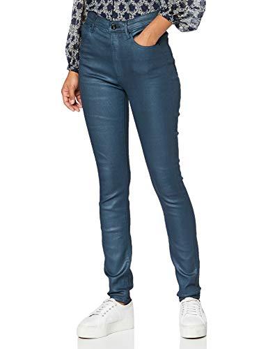 G-STAR RAW Kafey Ultra High Waist Skinny Jeans, Zapatero Vintage Azul Marino...