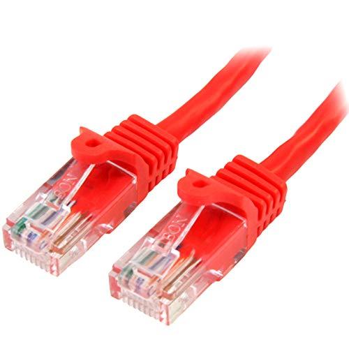 StarTech.com 45PAT2MRD - Cable de Red (2 m, Fast Ethernet, cat5e, RJ45,...