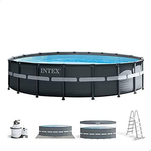 Intex 26330NP - Piscina elevada redonda con depuradora Ultra XTR Frame