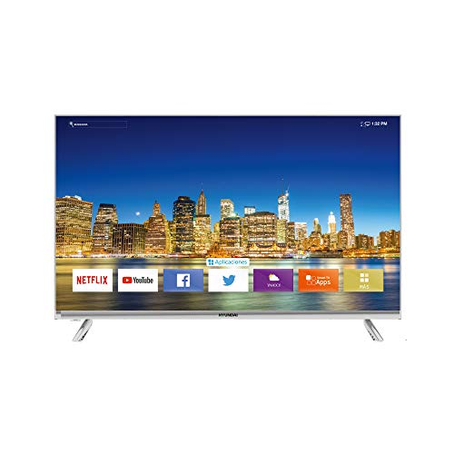 Hyundai Hyled3244Nim Hd, Smart Tv, 32' - Diseño 'Sin Borde'