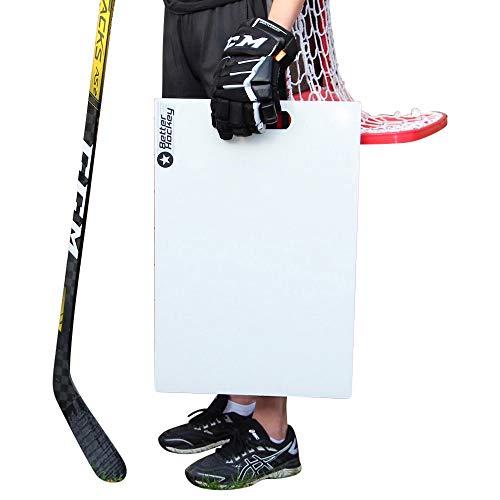 Better Hockey Extreme Sauce Launch Pad - Größe 60 x 40 cm - Perfekt für Flipp-Pässe und Hinterhofspiele - Simuliert das Gefühl von echtem EIS - Made in Canada