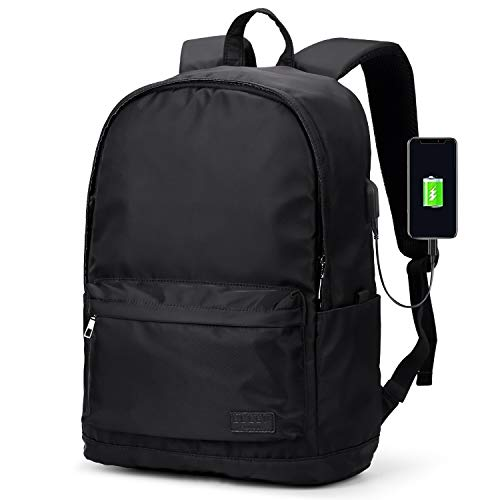 Travel Laptop Backpack,Business Slim Durable Laptops Backpacks with USB Charging Port,Water Resistant College School Computer Bag for Women & Men Fits 15.6 Inch Laptop and Notebook
