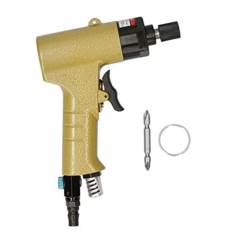KKmoon Destornillador Neumático Atornillador de Percusión por Aire Comprimido para Atornillar y Desatornillar Herramienta de Desmontaje para Montaje de Muebles