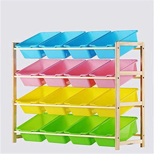 Shoe rack Durable Kids Toy Storage Organizer Bins - Para organizar el almacenamiento de juguetes Juguetes para bebés Juguetes para niños Juguetes para perros Ropa para bebés Libros para niños Muebles