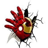 Marvel Spiderman Hulk 3D créatif LED applique murale Avengers Figure jouets veilleuse pour noël enfant cadeaux