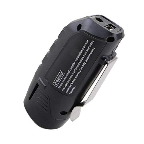 Professional Akku Ladegerät 10,8 V / 12 V mit USB für Bosch DDR 10,8-LI, GWI 10,8 V-LI, GOP 10, 8 V-LI, GLI 10,8 V-LI