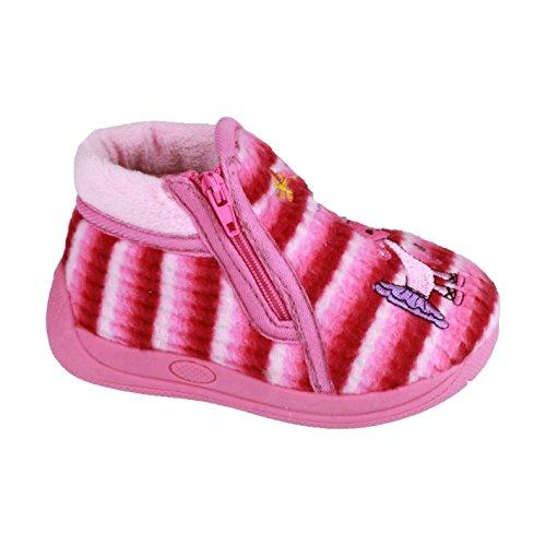 Mirak - Zapatillas de andar por casa Modelo Safari Unisex para niños niñas