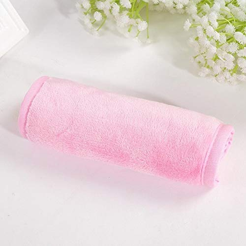 YTG Mujeres Suave Reutilizable Cara de Limpieza de Microfibra Toalla de Maquillaje Remover Herramientas del cojín de Tela Toallas de Cara de Belleza Toalla de baño Producto (Color : Pink Box)