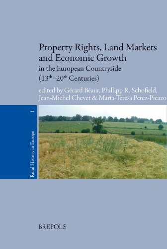Property Rights, Land Markets and Economic Growth in the European Countryside (13th-20th Centuries) (Rural History in Europe, Band 1)