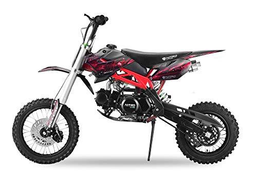 Nitro Motors 125cc Sky Dirtbike mit UpsidDown Gabel (Rot)