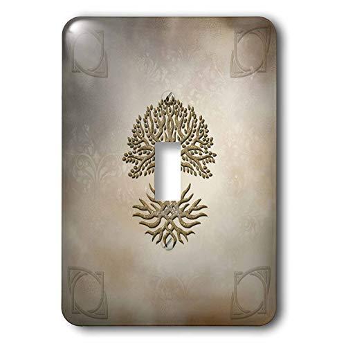 3dRose lsp_335009_1 Light Switch Cover, Wonderful celtic tree knotwork