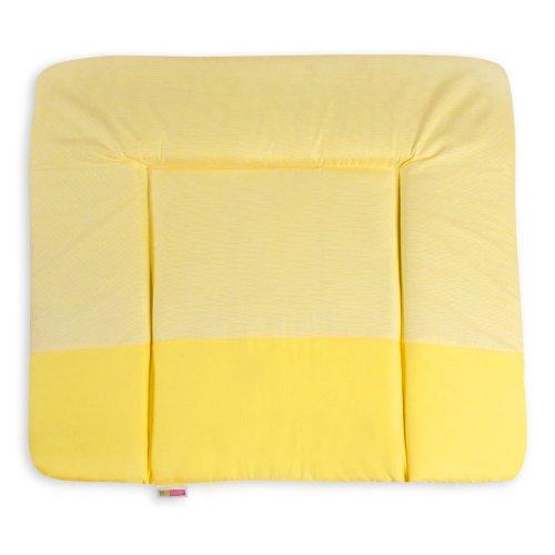 Wickelauflagen Wickeltischauflage Wickelunterlage von Sleeping Bear in Beige, Blau, Rosa, Gelb, Grün, Grau erhältlich, Farbe:Gelb