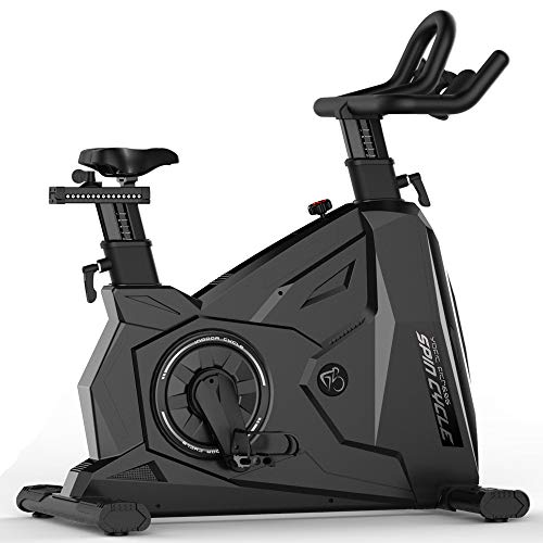 JLSYYCC Specifiche Palestra Gym Indoor Training, 20 kg Flywheel, Adatto per La Guida al Coperto, Giallo, Nero