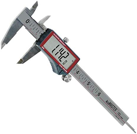 Calculated Industries 7410 AccuMASTER 6 Inch Digital Caliper Fractional 1 64ths Inch Metric product image