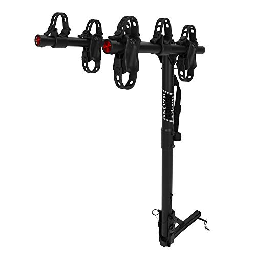 Hollywood Racks HR6500 Traveler 3-Bike Hitch Mount Rack (1.25 and 2-Inch Receiver), Black,...