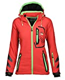 Geographical Norway Damen Softshell Funktions Outdoor Regen Jacke Sport [GN-Thea-Coral-Gr.M]
