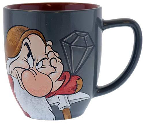 Disney Parks Grumpy Portrait Ceramic Coffee Mug