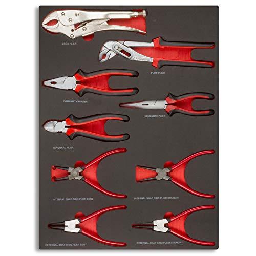 hanSe® Werkstattwagen gefüllt 245-teilig Werkzeug Werkstatt - 7