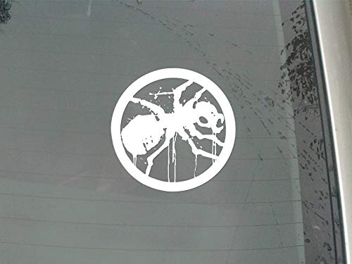 Wiedergeburt Aufkleber Auto Black Spider Trapped Inside The Ring Prodigy-Auto-Aufkleber for Auto Heckscheibe Dekoration Herausnehmbare (Color Name : Silver, Size : XL 20CM X 20CM)