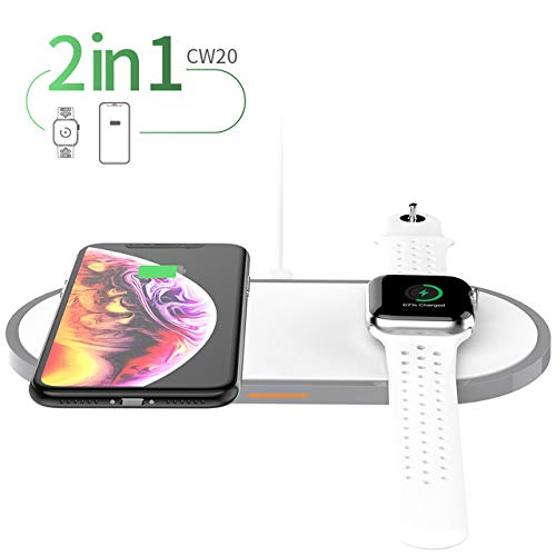 3in1 Draadloze oplader Qi Pad voor Iphone 11 Pro X XS Max XR voor Apple Watch 4 3 2 Airpods 10W Fast Charge voor Samsung S9 S10 3.7,Style 02
