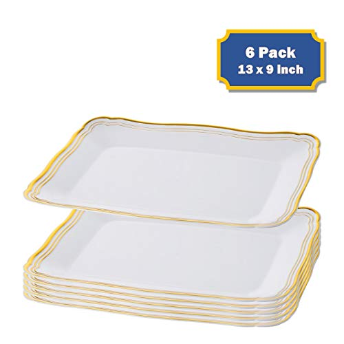 """Plastic Serving Tray 