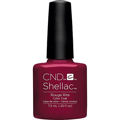 CND Shellac Rouge Rite, 1er Pack (1 x 7 ml)