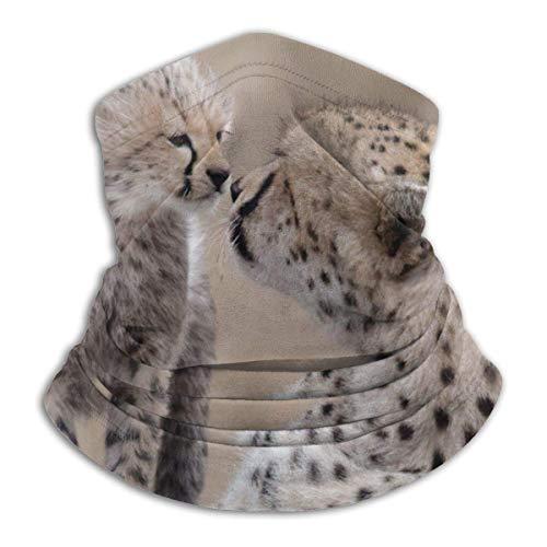 brandless Cheetah Baby Animal Predator Play Custom Protective Face Mask Magic Scarf Outdoor BandaFace Shield Multifunctional Headwear Windproof Neck Gaiter UV Protection