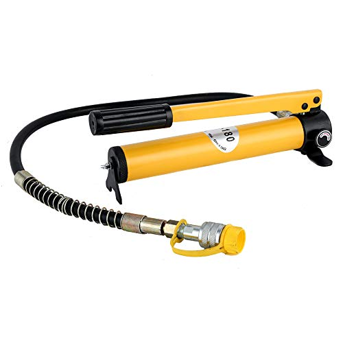 FW Wall Hydraulic Hand Pump CP-180 High Pressure Portable Manual Pump Hand Operated Oil Pump for Connecting Crimping Head Cable Cutter Split Unit