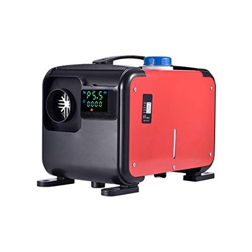 Ljourney 12V 8KW Diesel-Standheizung Standheizung | All-in-One-Heizung Mit Fernbedienung Und LCD-Thermostat-Monitor Für Wohnmobile, Vans, LKWs, Wohnmobilanhänger, Boote