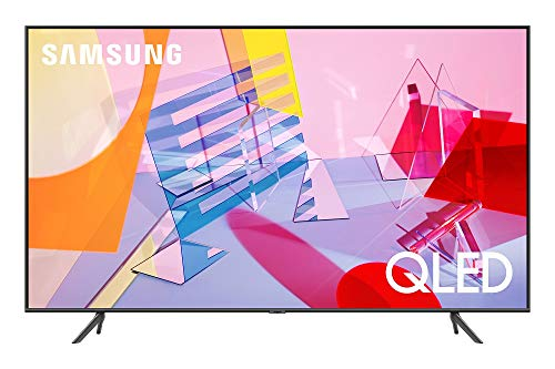 SAMSUNG Q60T Series 50-inch Class QLED Smart TV | 4K, UHD Dual LED Quantum HDR | Alexa Built-in | QN50Q60TAFXZA, 2020 Model