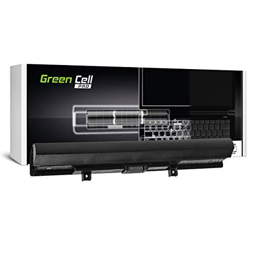 Green Cell PRO Akku für Toshiba Satellite C50D-B-120 C50D-B-121 C50D-B-125 C50D-B-12C C50D-B-13U C50D-B-15C C50t-B C50t-B-110 C55-C C55-C-10J C55-C-11H Laptop (2600mAh 14.4V Schwarz)