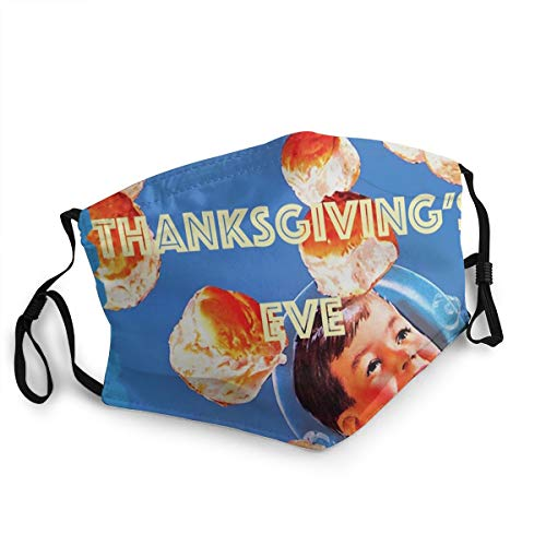 Yung Gravy Thanksgiving'S Eve Unisex Multi Usage Face Mask Reusable Polyester Breathable Dustproof Mouth-Mask Black