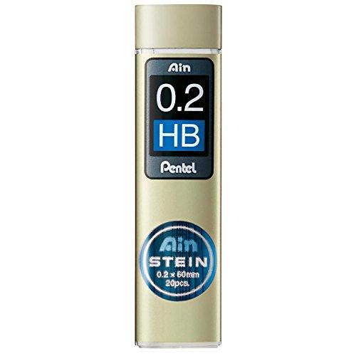 'Pentel c272W de HB'Ain Stein–Recambio de minas para portaminas, 10x 20minas