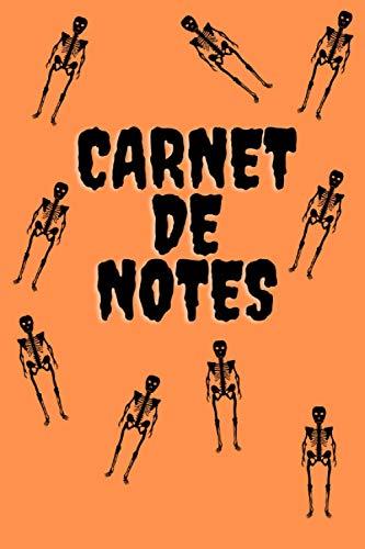 Carnet de notes: Halloween: Carnet avec 101 pages numérotées / idée cadeau / papier blanc / format 15.24 x 22.86 cm