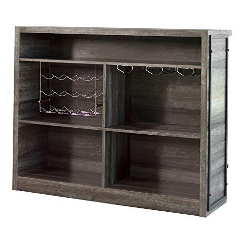 Coaster Home Furnishings Rectangular 5-Shelf Aged Oak Bar Unit