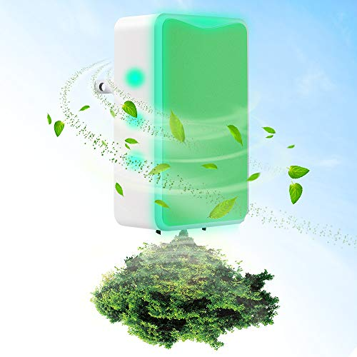 Air Purifier,Air Purifier for Home and Smoke and Office Pets Odor, Direct Plug-in Portable Ionic Air...