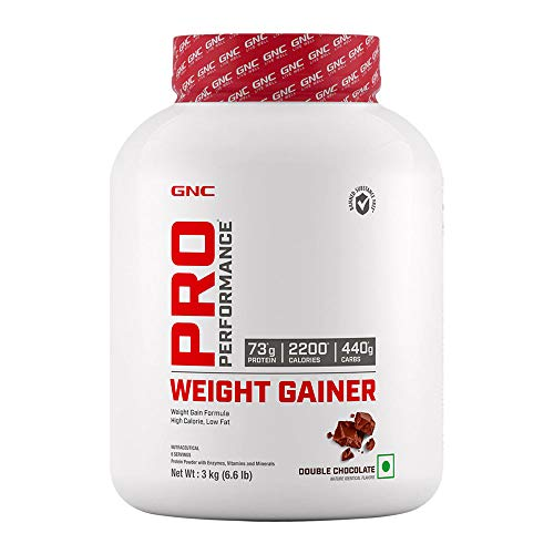 GNC Pro Performance Weight Gainer - 3 kg (Double Chocolate)