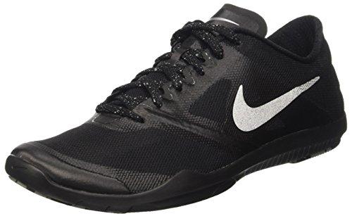 Nike Damen Studio Trainer 2 WMNS 684897-010 Sneaker, Black (Schwarz/Metallic Silver), 36.5 EU